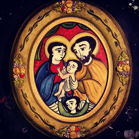 vicente holy family