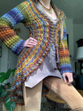 Sierra Mandala Sweater Crochet Pattern