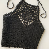 Zinnia Crop Top - Crochet Pattern