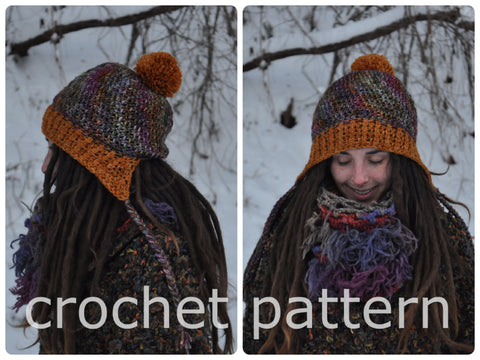 Traveller Slouchy Hat - Crochet Pattern