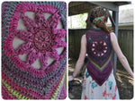 Mandala Vests Crochet Pattern Pack