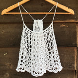 Cascade Crop Top & Dress - Crochet Pattern
