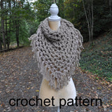 Blue Ridge Bandana Cowl - Crochet Pattern
