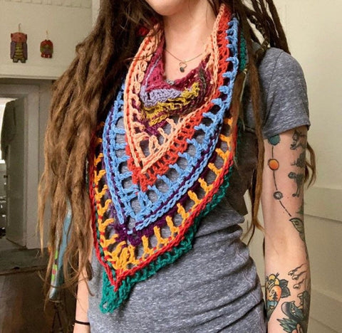 Scrappy Mountain Scarf