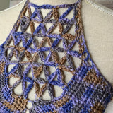 Sacred Flower Crop Top - Crochet Pattern