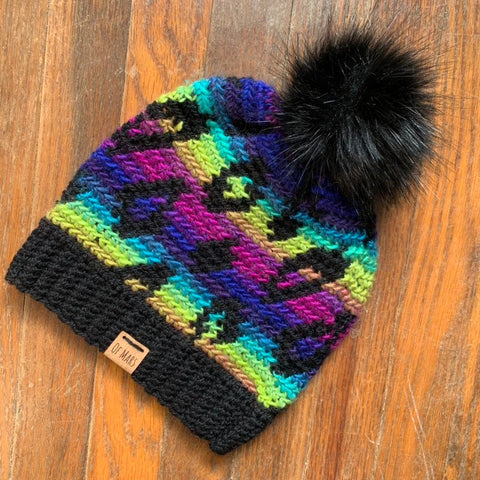 Wild Thing Leopard Hat - Crochet Pattern