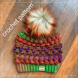 Sampler Hat - Crochet Pattern