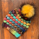 Dot Stack Hat - Crochet Pattern