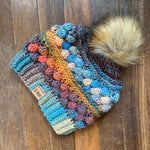 Wobble Bobble Beanie - Crochet Pattern