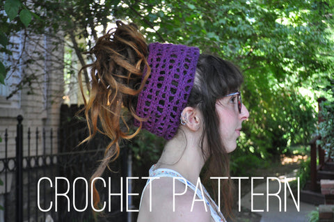 Wavy Headband - Crochet Pattern