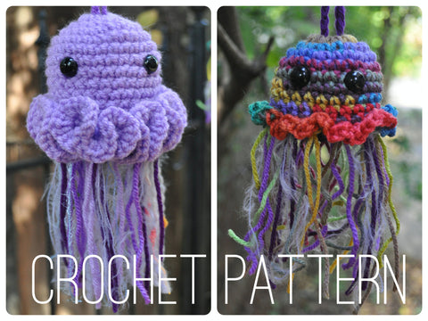 Jellyfish Pouches - Crochet Pattern