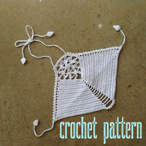 Flower of Life Crop Top - Crochet Pattern