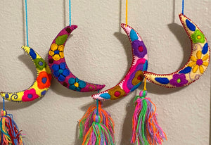 Crescent Moon Tassle