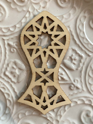 Sandala Bookmark/Hanging Sandala Ornament