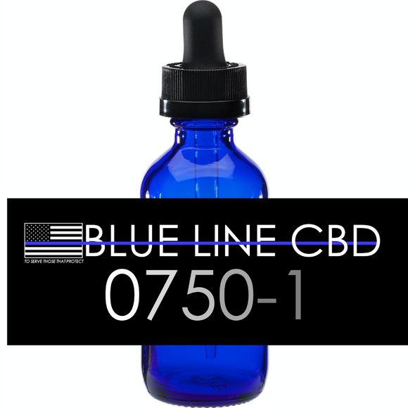 10750-1 Hemp Oil 1oz. with 750mg CBD Isolate. Cinnamint Flavor.  (SAVE 25%! READ DESCRIPTION)