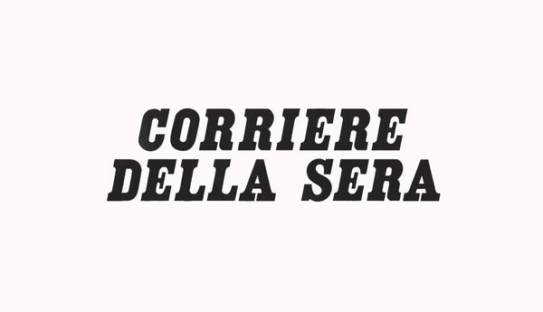 CORRIERE DELLA SERRA: Environment and research: sustainable jewelry