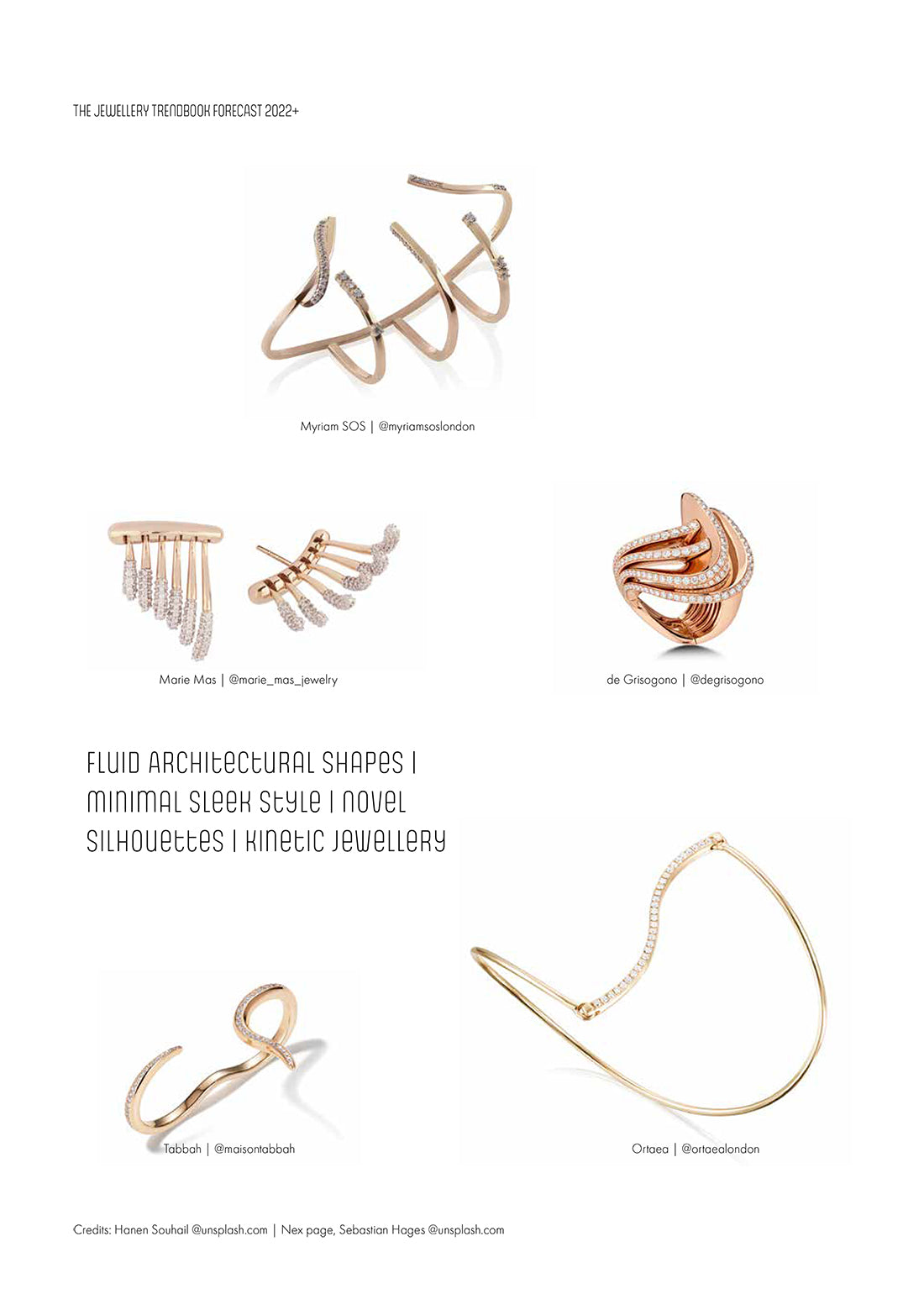 The jewellery trendbook forecast 2022+ with marie mas jewels