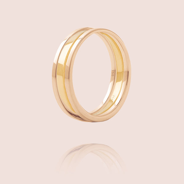 We Ring | Or Rose & Jaune