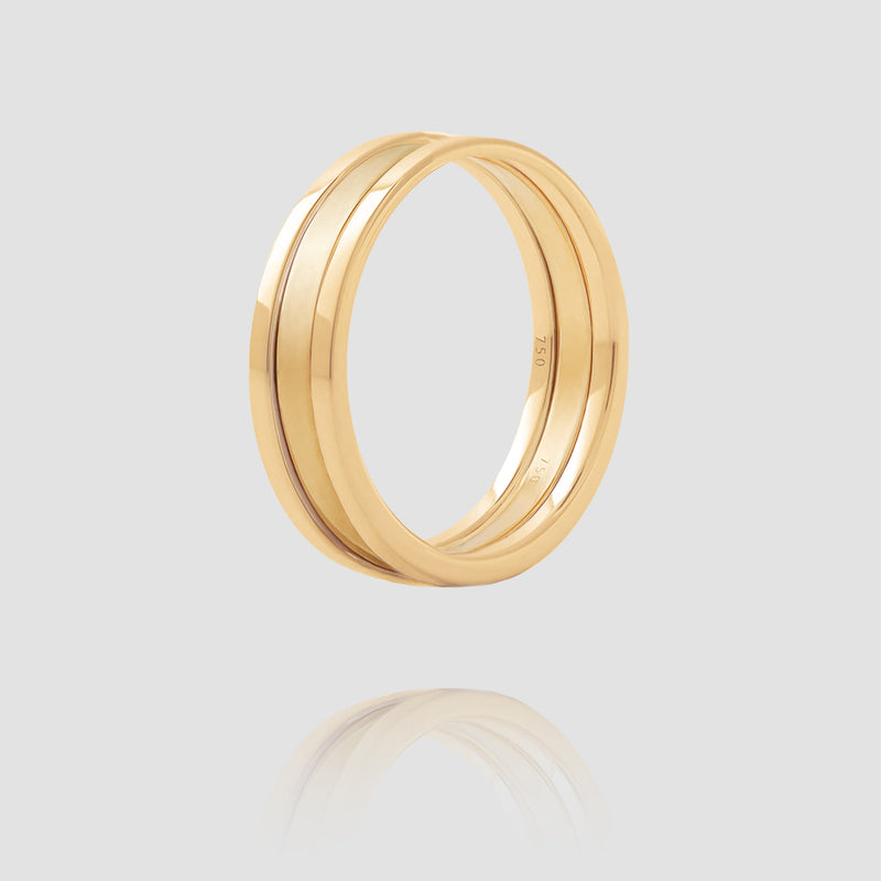We Ring | Yellow Gold Matt