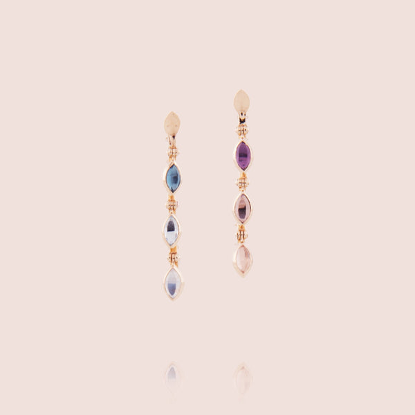 Petites Swinging Line Earrings