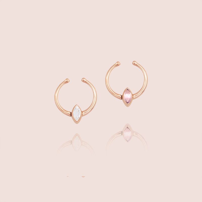 Petit Swinging Diamond Ear Jewel