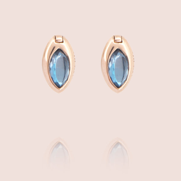 Swinging Marquise Studs