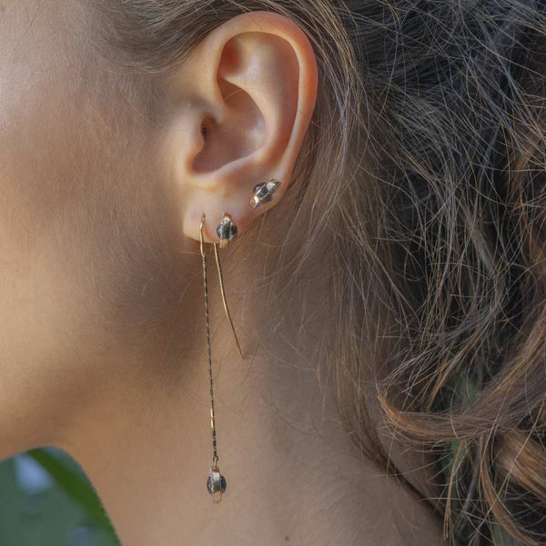 Swiveling Long Earrings