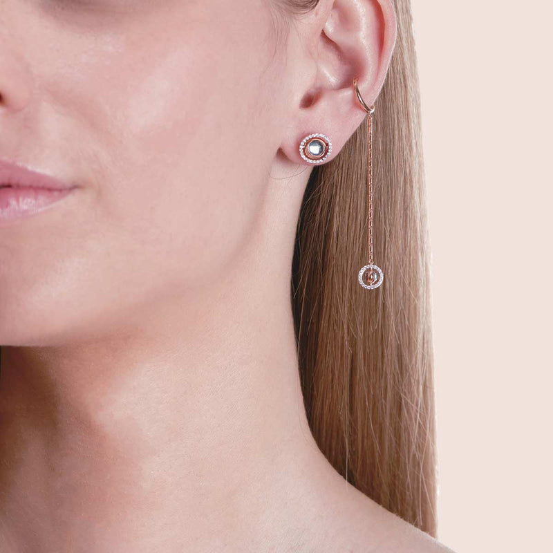 Swiveling Stud Earrings