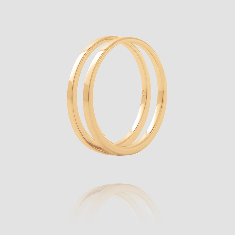 U Ring | Yellow Gold