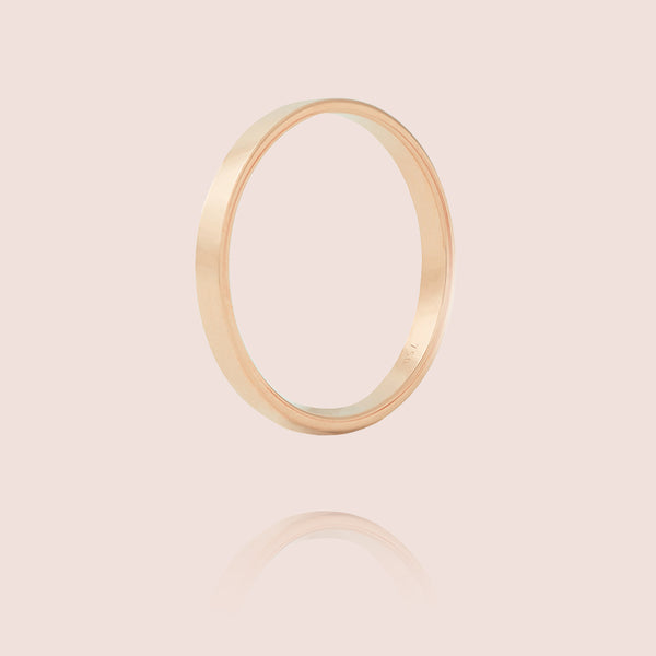 I Ring | Or Rose Mat