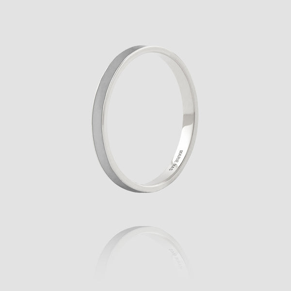 I Ring | Gray Lacquer