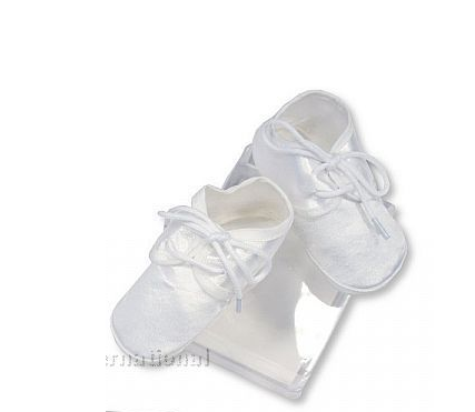 Boy's Christening Booties