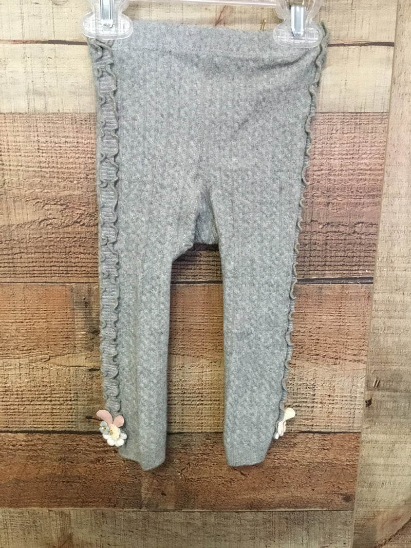 Sweater Leggings - Gray