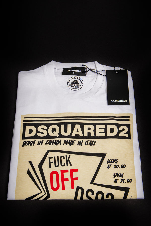 F**K Off DSQ2 On T-Shirt