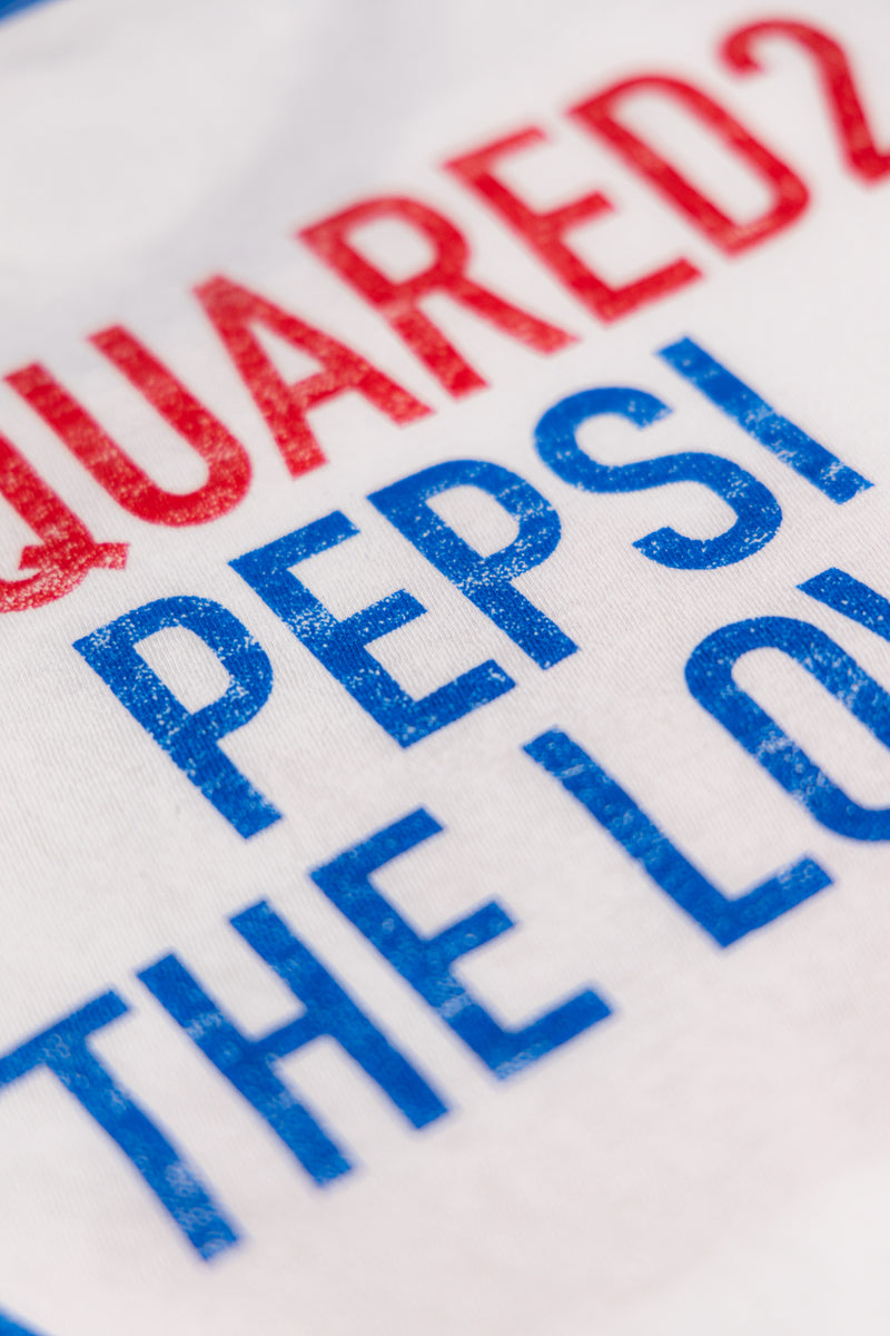 Dsquared2 X Pepsi T-shirt - Brands Off - Buy Online Luxury Clothing - Fashion Online Shop - Outlet Price