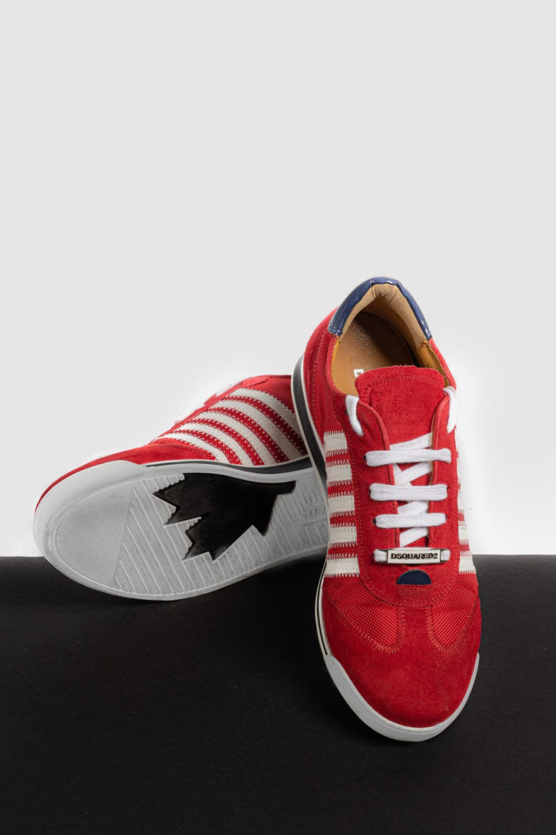 New Runner Sneakers Red