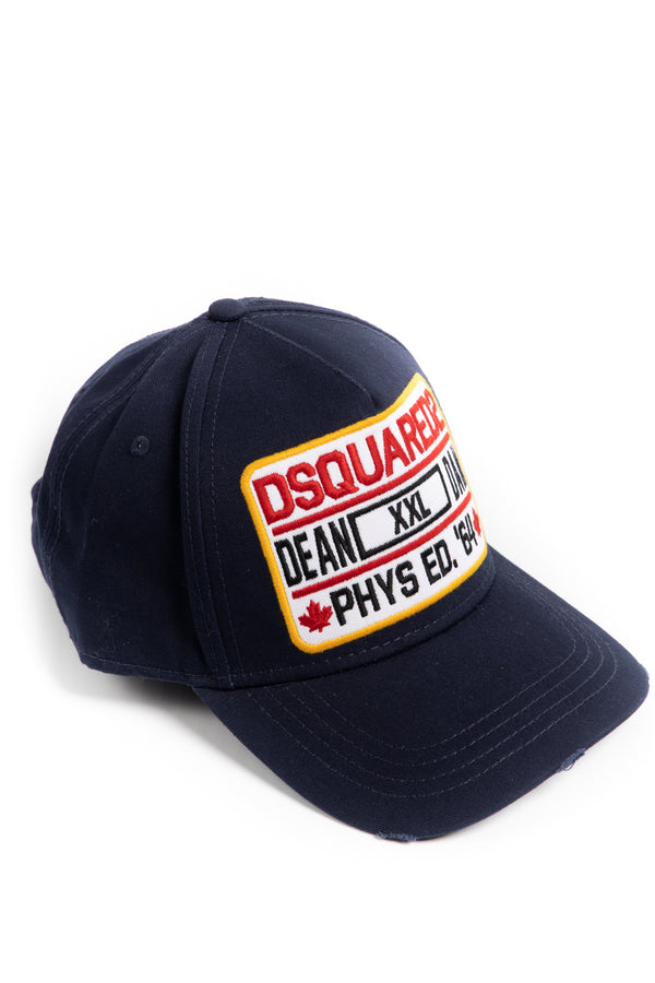 Dsquared2 Patch Embroidered Baseball Cap - Brands Off - Buy Online Luxury Clothing - Fashion Online Shop - Outlet Price