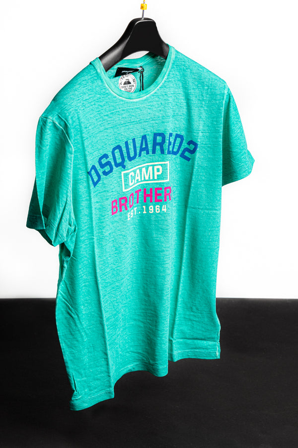 Dsquared2 Champ Brothers T-shirt - Brands Off - Buy Online Luxury Clothing - Fashion Online Shop - Outlet Price