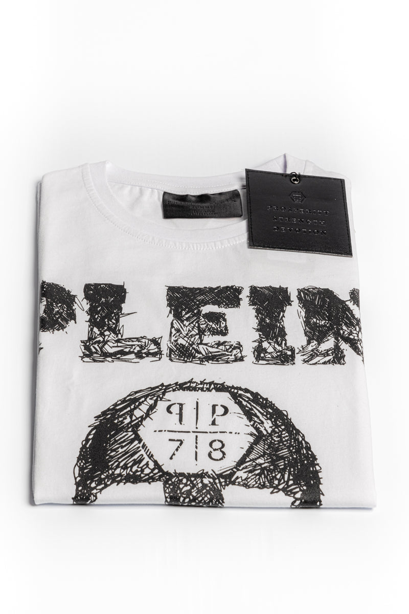 Philipp Plein SS Skull T-shirt - Brands Off - Buy Online Luxury Clothing - Fashion Online Shop - Outlet Price