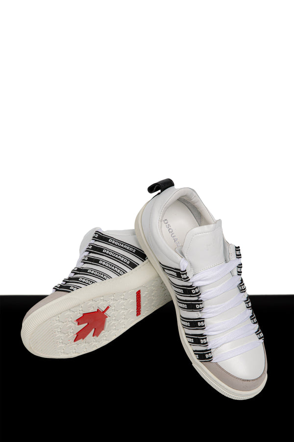 Logo Stripe Sneakers