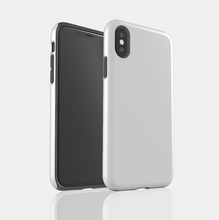 Load image into Gallery viewer, Silver Wood Snap iPhone Case - bycsera