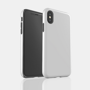Silver Wood Snap iPhone Case - bycsera