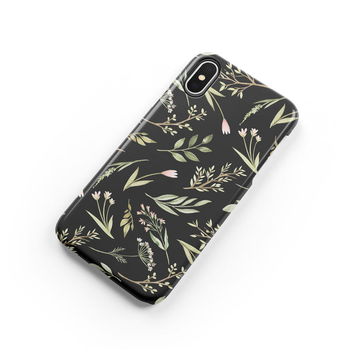 Wildflowers Snap iPhone Case