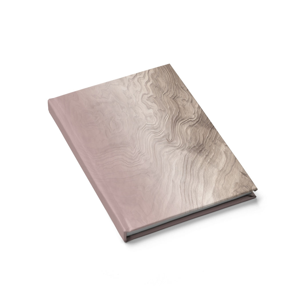 Soft Blush Journal - Blank - bycsera