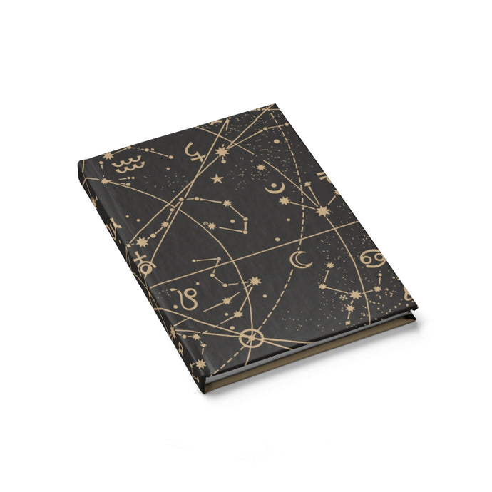 Black Sky At Night Journal - Blank - bycsera