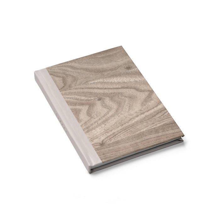 Taupe Wood Journal - Blank - bycsera