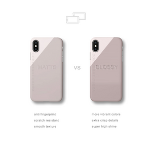 Cobalt Geo Snap iPhone Case - bycsera