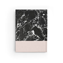 Load image into Gallery viewer, Black Marble Journal - Blank