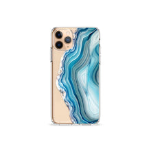 Load image into Gallery viewer, Agate iPhone 11 Recycled TPU Clear Case Gold