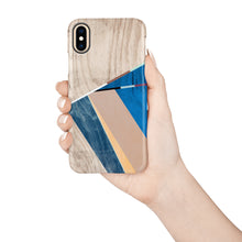 Load image into Gallery viewer, Cobalt Geo Snap iPhone Case - bycsera